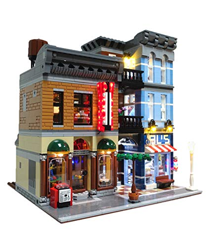 Brick Loot Lighting Kit for Your Lego Detective#039s Office Set 10246 Lego Detective Set not Included