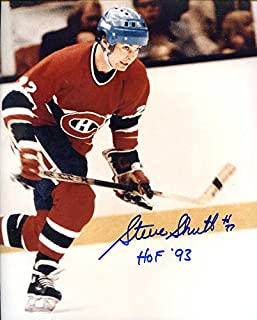 Steve Shutt (HOF) Autographed/ Original Signed 8x10 Photo w/ the Montreal Canadiens (5 Stanley Cups)