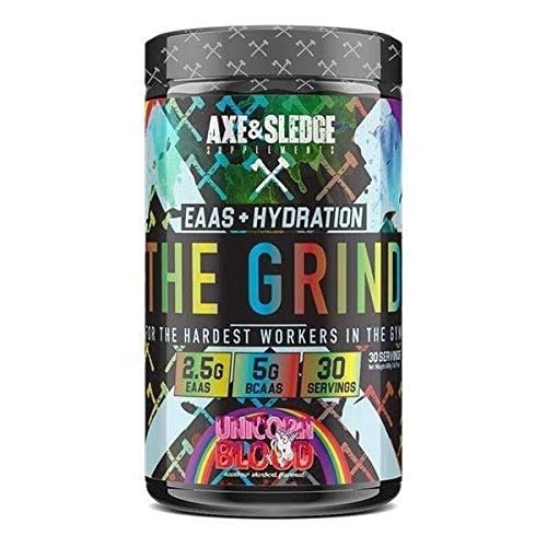 Axe & Sledge - The Grind - EAAs/BCAAs 480g (Unicorn Blood)