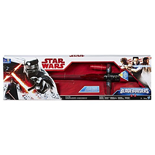Star Wars 8 Sable de Lujo Kylo REN, Multicolor (Hasbro C1440EU4)