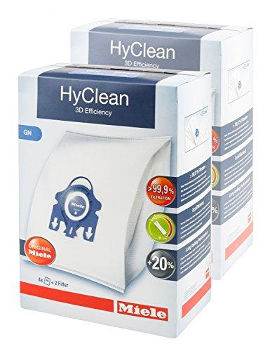 Miele 2x HyClean 3D Efficiency GN Staubsaugerbeutel