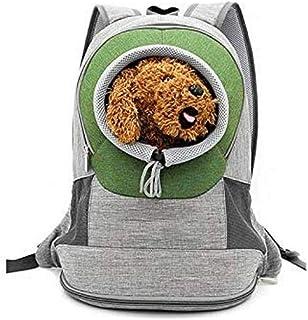MAOSHE Pet Bag Supplies Backpack Dog Backpack Pet Pet Out Bag Shoulder Large Visible Portable Travel Pet Bag Summer (Color...