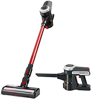 Household Hand-held Putter Cordless Vacuum Cleaner, Silent Cyclone Centrifugal Dust Removal Multi Stage Separation Low Noi...