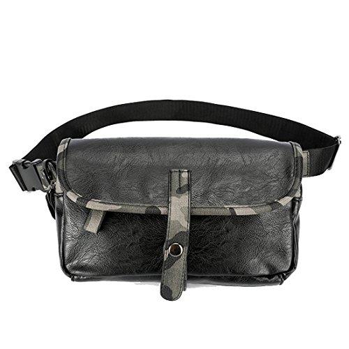 Toyis Taillentasche, klassische Leder-Gürteltasche, wasserdichte Hüfttasche für Damen und Herren, für Handys