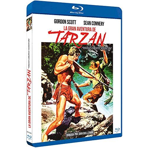 La Gran Aventura De Tarzán (Blu-Ray) (Bd-R) (Tarzan'S Greatest Adventure)