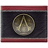 Cartera de Assassins Creed Insignia de Bronce Negro