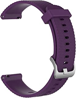 Consumer Electronics Smart Watch Silicone Wrist Strap Watchband for Polar Vantage M 20cm(Black) (Color : Purple)