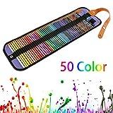36/50 Colori Set di matite colorate ad Olio professionali Pittura per artisti Schizzi Matite colorate Dipinte a Mano Materiale scolastico per ufficio