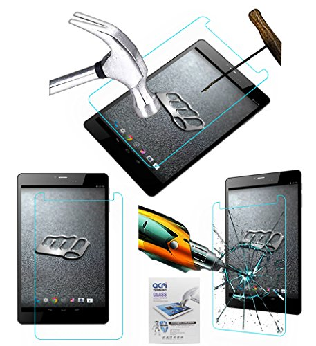 ACM Tempered Glass Screenguard Compatible with Micromax Canvas Tab P690 Tablet Screen Guard Scratch Protector