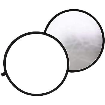 TARION 撮影用 丸レフ板 直径80cm 折りたたみ可能 銀&白