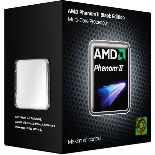 AMD Phenom II X6 1045T - Procesador (6 núcleos, 2,70 GHz, 6 MB de caché, zócalo AM3, 95 W, en Caja)