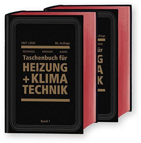 Recknagel - Taschenbuch für Heizung und Klimatechnik 80. Ausgabe 2019/2020 - Premiumversion inkl. E-Book: einschließlich Trinkwasser- und Kältetechnik sowie Energiekonzepte