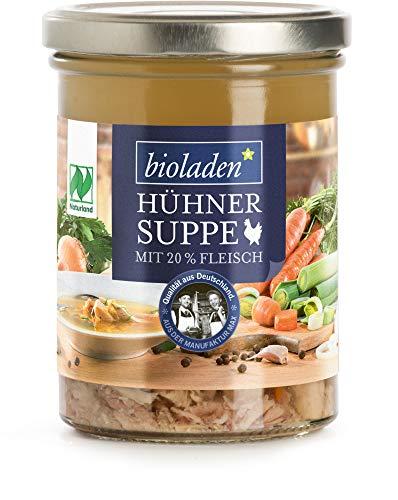 bioladen Bio bHühnersuppe m. Fleisch (6 x 400 ml)