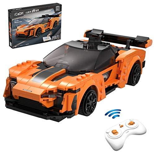 Lommer Technic Supercar - Kit de construcción de coche (295 piezas, 2,4 Ghz)