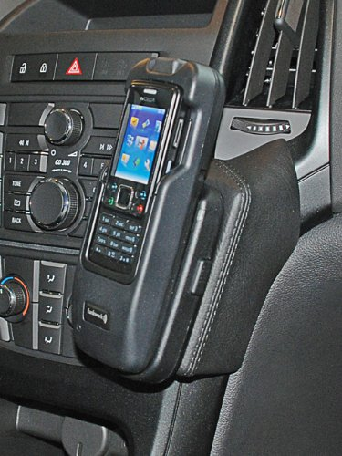 KUDA 094595 Halterung Kunstleder schwarz für Opel Astra J ab 2009 bis 2015
