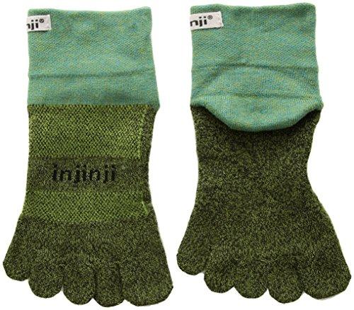 Preisvergleich Produktbild Injinji Trail Mini-Crew Xtralife Midweight Socken Powder Blue Schuhgröße L / EU 44, 5-47 2020 Laufsocken