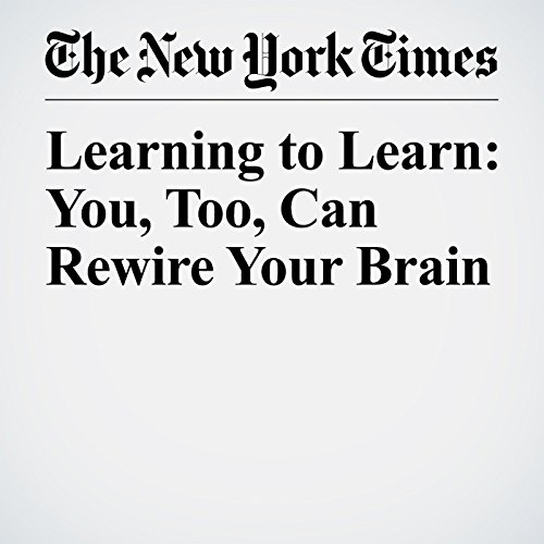 Learning to Learn: You, Too, Can Rewire Your Brain copertina