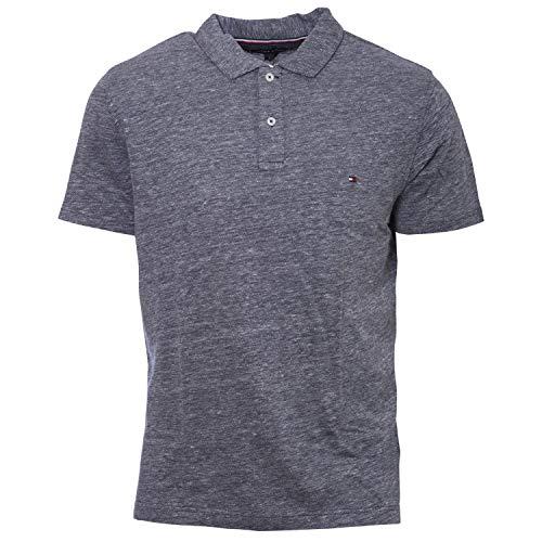 Tommy Hilfiger Herren Poloshirt Slim Fit Kurzarm Marine (52) M