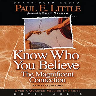 Know Who You Believe audiobook cover art