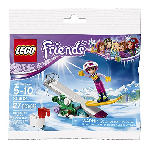 Lego 30402 FRIENDS Snowboard Tricks Polybag (Bagged)