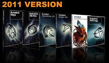 Autodesk Maya 2011, 3Ds Max 2011, Motion Builder, Softimage 2011, Mudbox 2011, SketchBook Pro