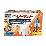 【動物用医薬部外品】 アース・ペット ペット用 アースノーマット60 器具+ボトルセット