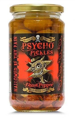 Psycho Onions - Geist-Pfeffer eingelegte Zwiebeln