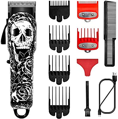 Surker Hair Clippers for Men Cordless Hair Trimmer Beard Trimmer Haircut Grooming Kit Barber Hair Cut Professional by Surker