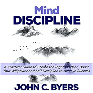 Mind Discipline audiobook cover art