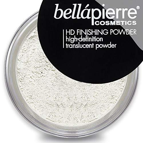 bellapierre HD Finishing Powder | High-Definition Setting Powder | Silky Shine-Free Matte Finish |...