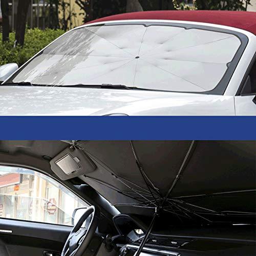 Wven Sonnenschutz Auto, Auto Sonnenschutz Frontscheibe Innen Sonnenschutz für Windschutzscheibe zum Mini Cooper S One JCW Countryman Clubman