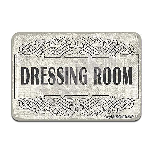 Plaque décorative en fer pour vestiaire - Style rétro - 20,3 x 30,5 cm - Pour maison, cuisine, salle de bain, ferme, jardin, garage - Citations inspirantes
