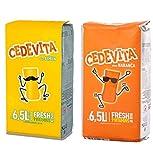 Cedevita Limón / Cedevita Naranja Mezcla de bebida instantánea de vitaminas 500 g, hace 13,0 litros