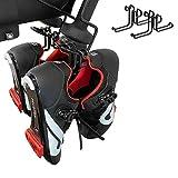2 Pack Hardened Steel Shoe Hanger Holder for Peloton Bike(Not Compatible with Peloton Bike +)