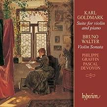 Goldmark: Suite for Violin and Piano, Op. 11 / Walter: Violin Sonatas