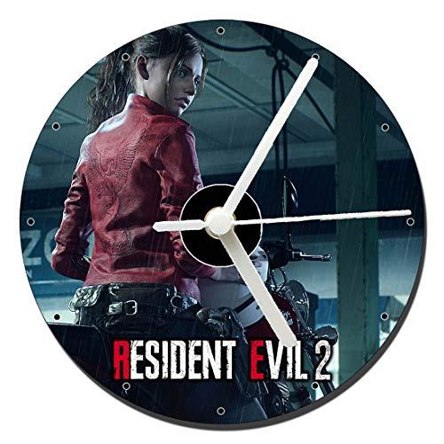 MasTazas Resident Evil 2 Remake Claire Redfield Reloj CD Clock 12cm