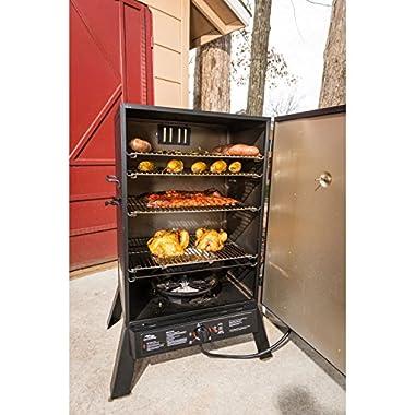 Masterbuilt 40-Inch Outdoor Sportsman Elite Extra Large Gas Smokehouse