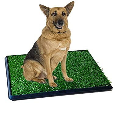 Synturfmats Pet Potty Patch Training Pad for Dogs Indoor or Outdoor Use, Large Size 20 x30