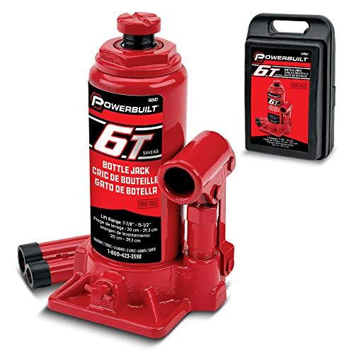 Alltrade Powerbuilt 640407 Heavy Duty 6-Ton Bottle...