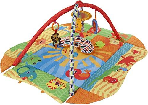Sun Baby 27291 Tapis/Parc avec coussin – Soleil Multicolore