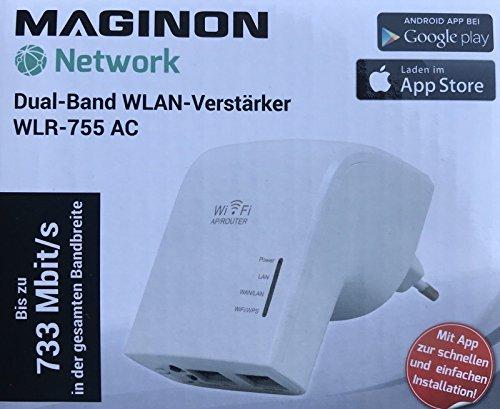 Maginon WLR-755AC Dual-Band-WLAN-VERSTÄRKER