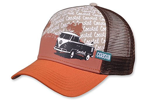 Coastal HFT Surfbully Casquette Orange foncé Marron