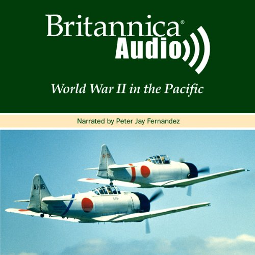 World War II in the Pacific audiobook cover art