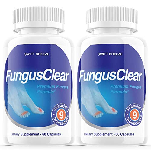 (2 Pack) Fungus Clear Pills, Fungus Clear Nails Plus - for Strong Healthy Nails (120 Capsules)