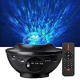Starry Night Light Projector Bedroom,Galaxy Projector Light Ocean Wave Projector LED Nebula Cloud