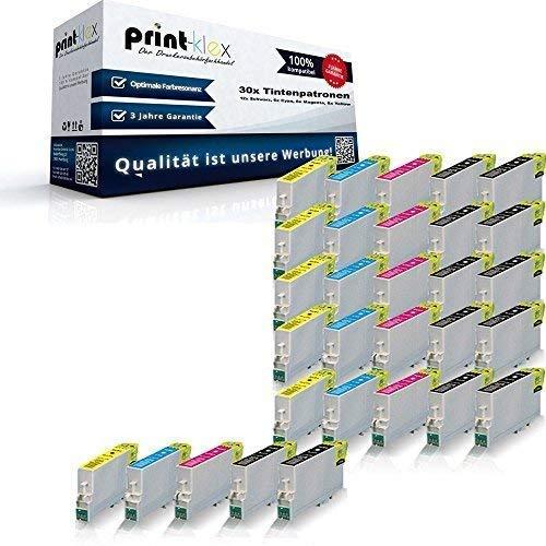 30x XL Tintenpatronen für Epson Stylus D120 D78 D92 DX4000 DX4050 DX4400 DX4450 DX5000 DX5050 DX5500 DX6000 DX6050 DX7000F DX7400 DX7450 DX8400 DX8450