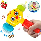 HOMOFY Baby Toys Funny Changeable Hammer Toys 6 Months up,Multi-Function,Lights MusicToys for Infant...