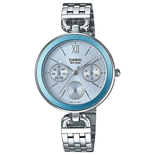 Casio Ltp-e406d-2avdf Reloj Analogico para Mujer Colección Collection