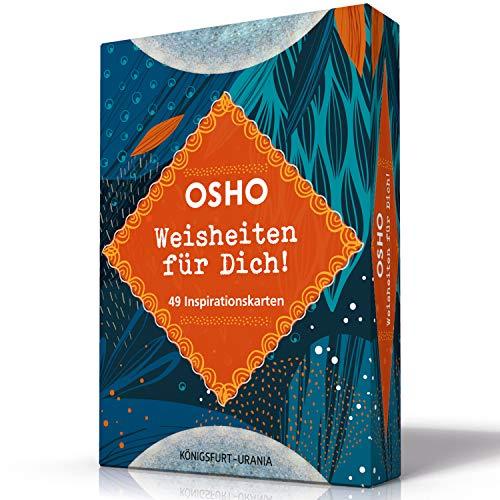 Buchseite und Rezensionen zu 'OSHO Weisheiten für dich!: Set mit Booklet und Karten' von  OSHO international