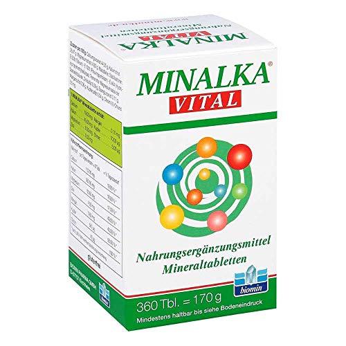 MINALKA vital Mineraltabletten, 360 St. Tabletten